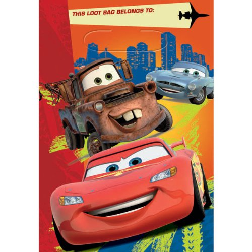 Cars 2 Favor Bags 8 Ct.