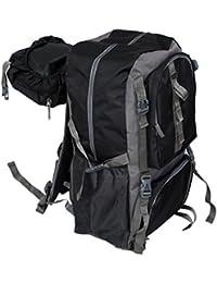Kuber Industries 60 Ltrs Dark Blue Backpack/Rucksack/Travelling Bag/Hiking Bag/Adventure Bag/Camping Bag (Canvas...
