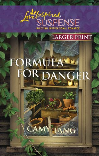 Image for Formula for Danger (Larger Print Steeple Hill Love Inspired Suspense)