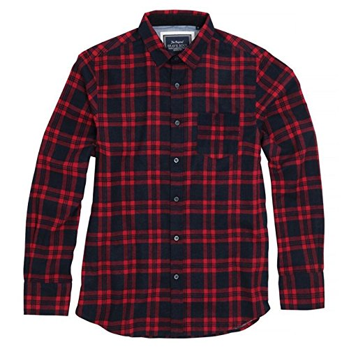 mens-check-shirt-slater-long-sleeve-brave-soul-soft-brushed-cotton-with-classic-point-collar-and-che