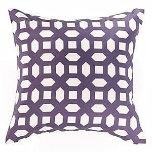 Amazon.com - Fancy Geometric Pattern Decorative Pillow Cover