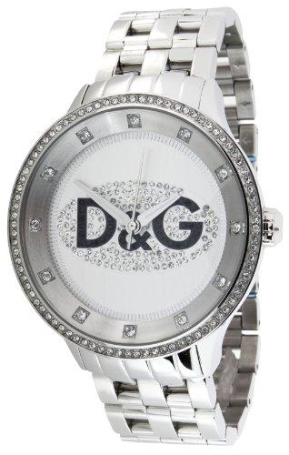 Dolce  &  Gabbana Men's Watch Analogue Quartz DW0131with Silver Stainless Steel Strap
