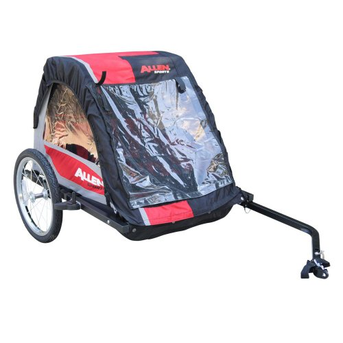 Allen Premium Steel 2 Child Bicycle Trailer