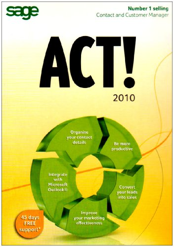 ACT! by Sage 2010 1-user