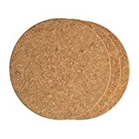4440-Round Cork Trivets 6pk by Fox Run