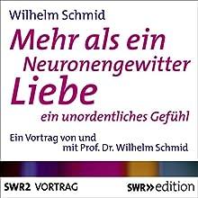 Mehr als ein Neuronengewitter: Liebe, ein unordentliches Gefühl (       ungekürzt) von Wilhelm Schmid Gesprochen von: Wilhelm Schmid