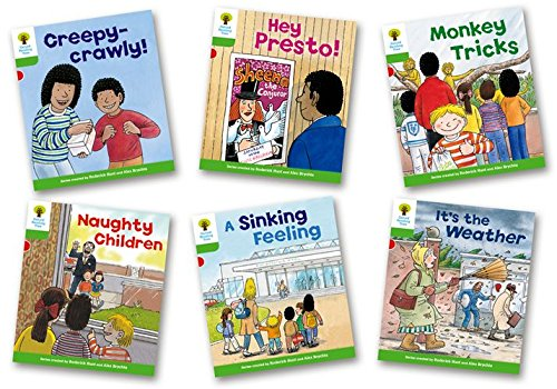 Oxford Reading Tree: Level 2: Patterned Stories: Pack of 6