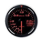 日本精機 Defi (デフィ) メーター【Racer Gauge】52φ ターボ計 (レッド) DF06505