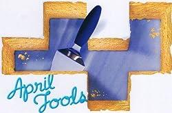 April Fools Edible Image Cake Topper