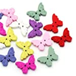 Pack of 20 Multicoloured Butterfly Sh...