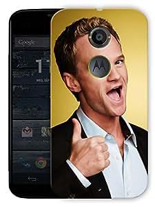 "Barney Stinson Love Printed Designer Mobile Back Cover For ""Motorola Moto X2"" By Humor Gang (3D, Matte Finish, Premium Quality, Protective Snap On Slim Hard Phone Case, Multi Color)"