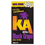 KA Still Black Grape Juice Drink 288ml (Pack of 27)