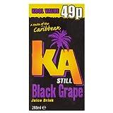 KA Still Black Grape Juice Drink 288ml (Pack of 27)