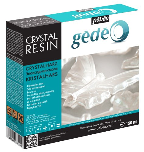 Pebeo Gedeo Crystal Resin, 150ml (Crystal Resin compare prices)