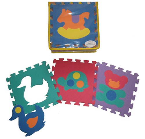 Buy Low Price Soft & Safe Educational EVA Foam Animal Mat (B000YJ5K8E)