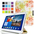 MoKo Samsung Galaxy Tab 3 10.1 Case - Ultra Slim Lightweight Smart-shell Stand Cover Case for Samsung Galaxy Tab 3 10.1 Inch GT-P5200 / GT-P5210 Android Tablet