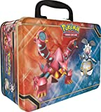 Pokemon TCG Card Game Collector's Tin Chest Lunchbox - 5 Booster Packs