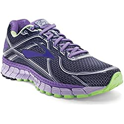 Brooks Women's Adrenaline Gts 16 Passionflower/Lavender/Paradis Running Shoe 7.5 Women US