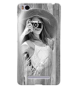 Fuson 3D Printed Girly Designer back case cover for Xiaomi Mi 4i - D4448