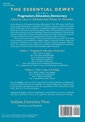 a analysis of deweys democracy and education Education and democracy critical analysis of contemporary ideas, conditions, and events dewey, j (1916, 1944) democracy and education.
