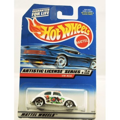 Hot Wheels 1997 Artistic License Series VW BUG 3/4 #731 1:64 Scale - 1