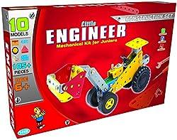 Folksrc Little Engineer Mechanical Kits for Juniors - Construction Set