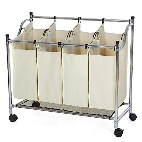 songmics-cromo-cesto-para-la-colada-con-4-compartimentos-ruedas-carrito-de-lavanderia-bolsas-en-crem