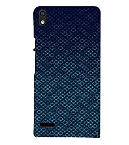 EPICCASE Blue Bubbles Mobile Back Case Cover For Huawei Ascend P6 (Designer Case)