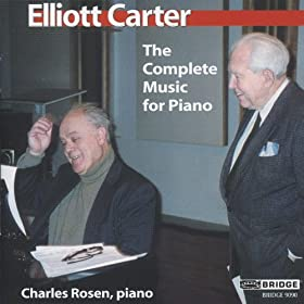 Carter: The Complete Music for Piano