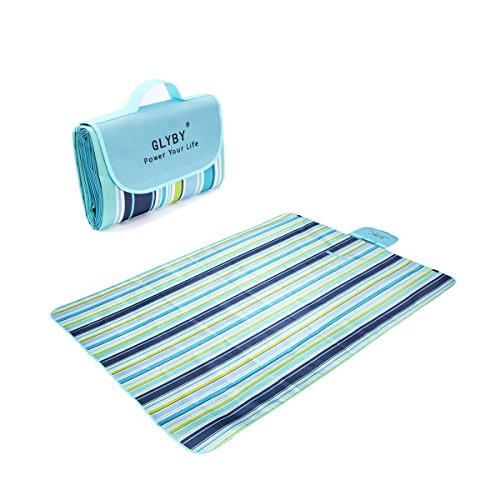 2016 Glyby New Picnic mat, Multifunctional Outdoor Waterproof Moisture-proof Beach Blanket ,Light Weight Portable Foldable Camping Mat, Children Play Folding Grass Mat