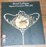 echange, troc Yvonne Brunhammer, Marie-Laure Perrin, Maria Fernanda Passos Leite, Dany Sautot, René de Ceccatty - René Lalique : Bijoux d'exception 1890-1912