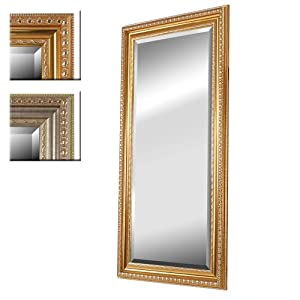 Jago wspg01 specchio da parete cornice oro for Specchio da parete camera amazon
