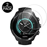 For Suunto 9 Smartwatch Screen Protector Tempered Glass - 9H Ultra Clear Explosion-proof Protective Film SUUNTO 9 Watch Screen Protector (2 PACK)