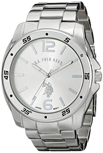 U.S. Polo Assn. Classic Men'S Usc80223 Analog Display Analog Quartz Silver Watch