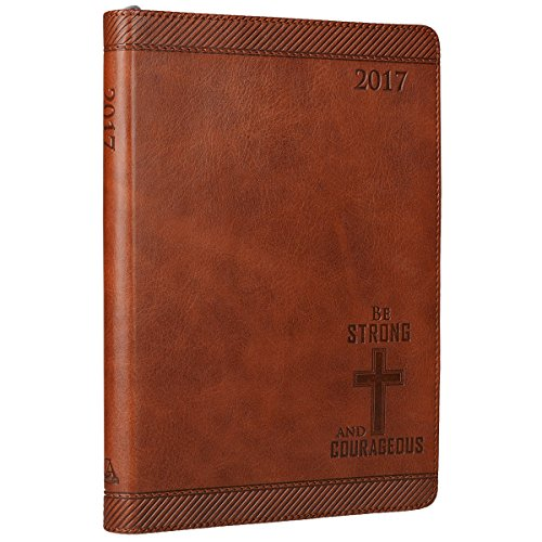 2017-saddle-tan-be-strong-and-courageous-faux-leather-zippered-inspirational-executive-planner-joshu