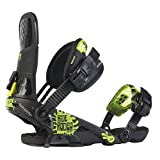 Ride Rodeo Snowboard Bindings, Black - X-Large