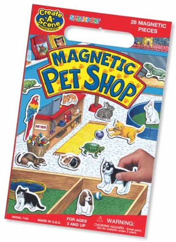 Create A Scene Magnetic Pet Shop