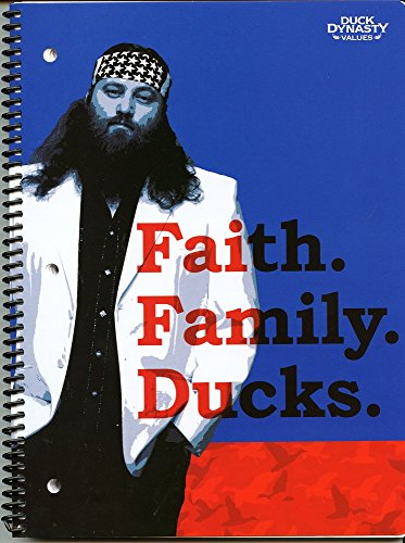 Duck Dynasty Values Spiral Notebook Faith Family Ducks