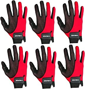 SIX 6 Right hand, Head Web Racquetball Gloves by HEAD