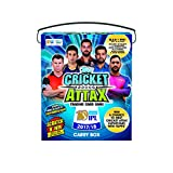 #4: Topps Cricket Attax IPL CA 2017 50's Carry box, Multi Color
