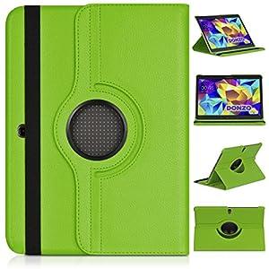 DONZO Wallet Structure 360 Tablet Tasche für Samsung Galaxy Tab S 10.5 T800 T805 Grün