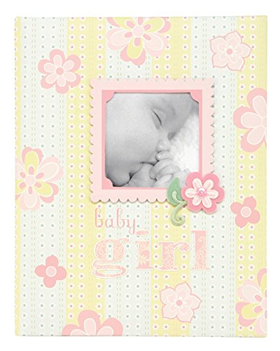 C.R. Gibson Bound Keepsake Memory Book Of Baby'S First 5 Years, Lulu front-8192