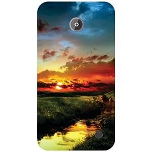 Nokia Lumia 630 Back Cover - Love Nature Designer Cases
