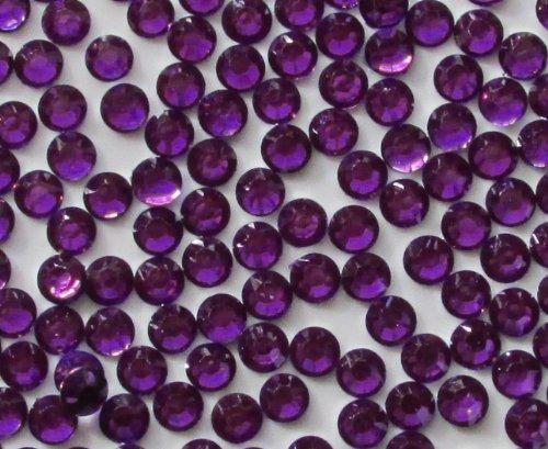 144pcs Round Flatback Rhinestones 6mm (30ss)--- Purple By Pixiheart