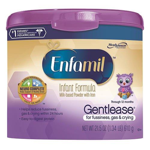 Enfamil Gentlease Powder 21.5 Ounce