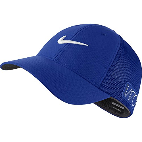 2015 NIKE Golf Tour Legacy VAPOR/RZN Mesh Fitted Cap COLOR: Game Royal SIZE: M/L