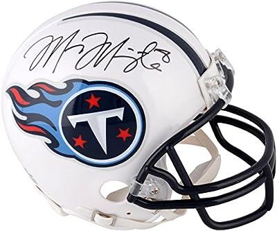 Marcus Mariota Tennessee Titans Autographed Mini Helmet - Fanatics Authentic Certified - Autographed NFL Mini Helmets