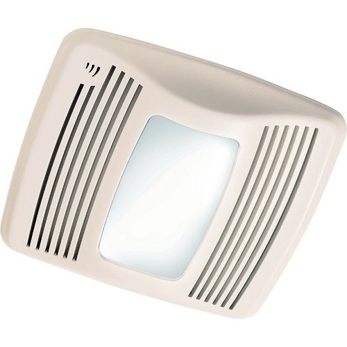 Nutone Qtxn110Sl Ultra Silent Humidity Sensing Bath Fan 100W Light 4W Nightlight 110 Cfm