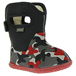 Bogs Kids Baby Boy\'s Baby Classic Camo (Toddler) Black Multi Boot 9 Toddler M