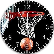 Comprar Reloj de pared de baloncesto 25,4 cm color y para pared W118